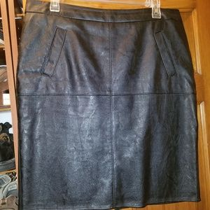 CAbi Style #509 faux leather skirt